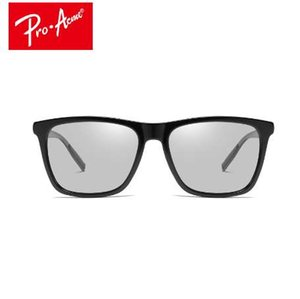 Pro Acme Driving intelligente photochrome Sonnenbrille für Männer Frauen polarisierte Chamäleon Discolouration Square Sonnenbrille