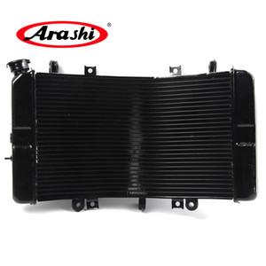 Arashi radiatore per Suzuki GSXR 1300 2008 - 2016 più freddo di raffreddamento GSX R GSXR GSXR1300 Hayabusa 2009 2010 2011 2012 2013 2014 2015 nero