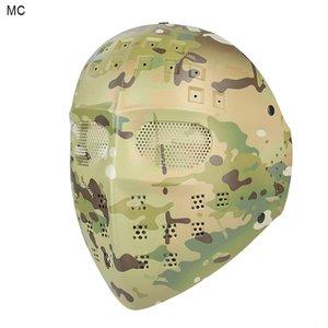 Livraison gratuite nouveau style masque complet au CP DD pour la chasse utilisation extérieure Wargame CL9-0024