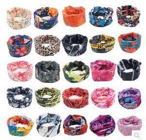 100 pçs / lote Atacado Esporte Ao Ar Livre Crânio Tubular Cachecol Ciclismo Multifuncional Bandana Headwear Sem Costura Pesca Caminhadas Esqui Headwear