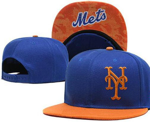 Новый бренд проектирование Mets Cap YM логотип шляпа Мужчины Женщины бейсболка Snapback Strapback твердый хлопок кости европейский американский спорт шляпа