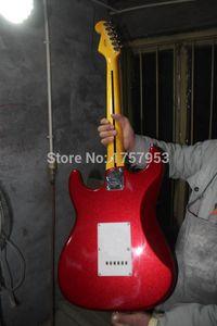 Factory custom shop 2015 Date Personnalisé Candy Apple Red ST guitare électrique Livraison gratuite (HAI 4 stratocaster2018