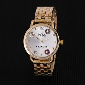 Распродажа 2018Hot Диаметр 35мм современная повседневная часы роскошные часы классические женские часы часы бренд часы Наручные часы