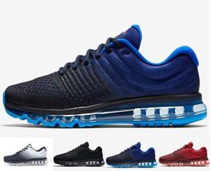 Erkek AM 2017 Sneakers Nefes Rahat Yürüyüş Ayakkabıları Adam Zapatillas 9 Renkler Boyutu 40-45 Yeni Varış