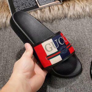 2019 sandales de marque de qualité supérieure, pantoufles de designer, sandales d'été, toboggans de plage, mode, chaussures de sport, chaussures de sport 35-45