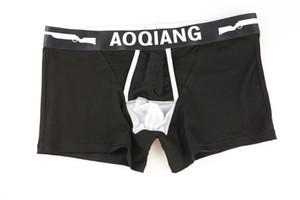 Großhandel AOQIANG31 Baumwolle Jungen Unterwäsche Boxershorts Beste Herren Unterwäsche Shop Inner Separate Neue Ankunft! Mischungsauftrag