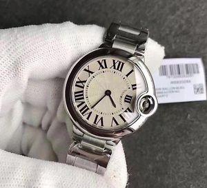 2019 Горячие продажи женские часы БАЛЛОН кварцевый механизм 316 Нежный стальной корпус с белым лицом часы женские наручные часы бесплатная доставка
