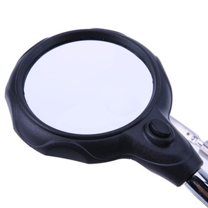 Soldering Holder Magnifying Glass with Led Lights Soldering Stand Professional Magnifier Welding Repair Tool