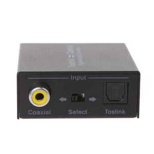Koaksiyel Çift Yönlü Swtich 2-Way Dijital Ses Dönüştürücü Adaptörüne Toslink
