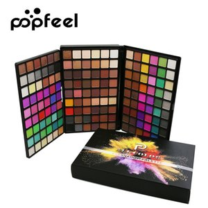 Popfeel Brand 162 Colors Eye Shadow Palette Makeup Kit Matte And Shimmer Highly Pigmented Cosmetic
