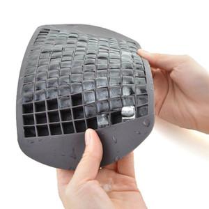 160 Grids DIY Cube pequeno Ice molde de silicone Cubo de Gelo Criador Fruit Cube Ice Maker Bar Acessórios de cozinha 0536