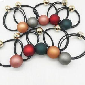 Haar Schmuck Haargummibänder für Frauen schrubben runde Perle Quadrat Haar Gummibänder heiße Art und Weise frei von Versand