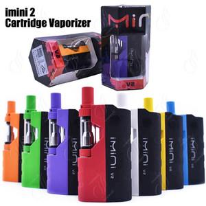 Original imini V2 2 Vape Cartucce Vaporizzatore Penna 650mAh Preriscaldare la tensione di controllo Battery Box MOD aggiornato Serbatoi Serbatoio olio Liberty