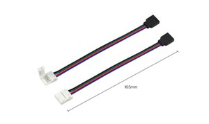 5pcs 4pin 10mm Free Welding 5050 SMD RGB LED Strip light accessory for SMD 5050 RGB LED strip lamp