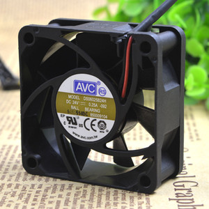 Para original AVC 6025 24v 0.25a 6CM 6cm Ventilador inversor de 2 hilos DS06025B24H