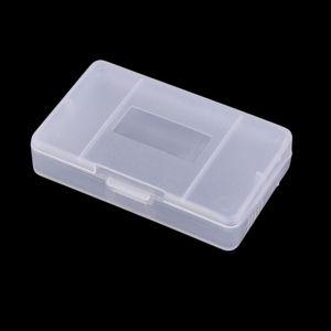 Прозрачный пластиковый чехол для игрового картриджа Прозрачный ящик для хранения для GameBoy Advance GBA Game Card Cart Protector Высокое качество БЫСТРЫЙ КОРАБЛЬ