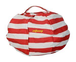10pcs lot 17 inch Stuffed Storage Bag Chair Multifunctional Children Kids Toys Storage Bag Clothes Blanket Organizer Bags