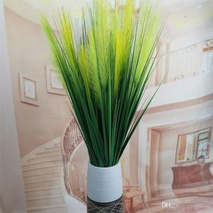 Fleurs Artificielles 120cm 2 Têtes De Soie Roseau En Herbe Pour La Maison De Noce Bureau Favor Décoration Nouveauté Faux Plantes Frais Style 6 8yl ZZ