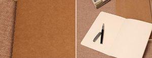 Kraft Graffiti Pocket Book Hand Copy Cover 메모장 Blank Stitch 메모장 kraft 표지 메모장 무료 배송