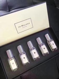 Novo lançado Jo Malone London Spray Perfume 5 cheiro tipo de perfume 9 ml * 5 epacket para frete grátis