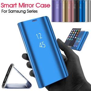 Coque Smart Mirror Pour Samsung Galaxy J3 J5 J7 2017 A3 A5 A7 S8 S9 Plus Note 9 8 S6 S7 Edge J5 J7 Prime A6 A8 201 J4 J6 J8 Couverture