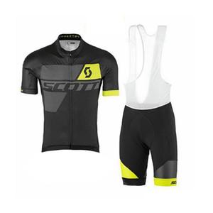 SCOTT 2019 bisiklet forması kısa kollu erkek yaz Hızlı kuruyan Yarış bisiklet bisiklet bisiklet giyim sportwear 52907