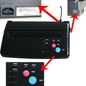 A4 bajo precio de transferencia de papel de la copiadora del tatuaje negro copia de la plantilla máquina de transferencia térmica