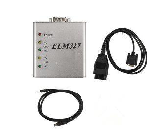 Données de tableau de bord en aluminium d'aluminium ELM327 USB Matel 25K80 OBD2 Scanner ELM 327 Lecteur de code ESCANER Automotriz Auto Diagnostic Couple