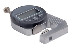 Freeshipping Digital Medidor De Espessura 0-12.7mm / 0.01 Medidor De Espessura Eletrônico Para Papel Ferramenta De Medição De Pano De Couro