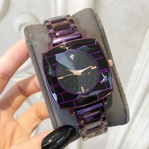 Relojes De Marca Mujer Nova Moda Lady Assista Forma Irregular Dial de Luxo Mulheres Relógio de Pulso de Aço Inoxidável Vestido Pulseira Relógio Atacado