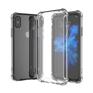 Coque antichoc transparente pour Samsung S9 Plus A5 A6 A7 2018 J2 Pro A8 J3 J4 J6 J7 J8 TPU + Coque rigide en acrylique