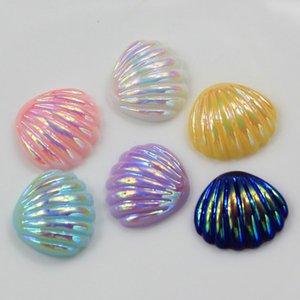 Venta al por mayor 20 piezas de resina mezclada Bling festón decoración artesanía espalda plana Cabochon Kawaii DIY adornos para Scrapbooking accesorios
