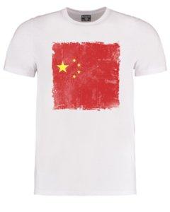 Zeng komünist sembolü Çin bayrağı - Çin bayrağı - erkek t-shirt