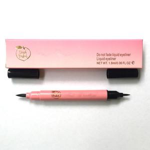 Faced Brand Makeup Peach Perfect Black Flüssiger Eyeliner Makeup Eyeliner Bleistift Dual Ended / Single Ended