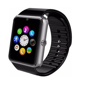 GT08 Bluetooth Smart Watch with Touch Screen SIM Card Slot Camera Pedometer Sport Tracker for Android Smartphones