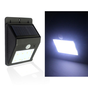 Waterproof LED Solar Lamp Human Body Induction Solar Light 20LED Powerful Solar Garden Light Outdoor Security Triangle Wall Lamp
