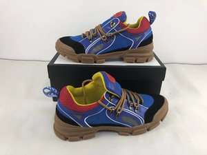 New fashion Flashtrek high top uomo sneaker in pelle canvas di alta qualità italiana in pelle di design stivali tuta sportiva donna in vendita di grandi dimensioni 12
