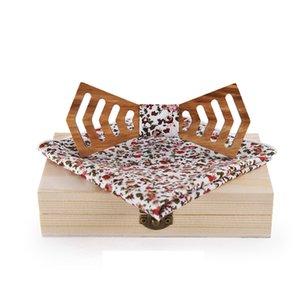 Mdiger Mens De Madeira Bow Tie Lenços de Natal Presentes De Bambu De Madeira Gravata Borboleta Gravata para Mulheres Dos Homens Cravat Para O Casamento