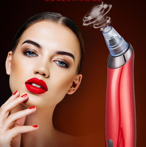 Face Skin Care Pore Cleaning Vacuum Blackhead Remover Acne Pimple Removal Beauty Healthy Suction Tool Derm Abrasion Machine Diamond Dermabra