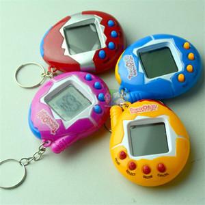 Nostálgico Virtual Cyber Pet Tamagotchi Animais De Estimação Digital Retro Game Egg Brinquedos keychain Eletrônico E Animais de estimação jogos para crianças criança meninas meninos adultos