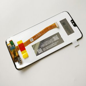 Huawei P20 lite Için orijinal Yeni Siyah / Nova 3E Tam LCD Ekran + Dokunmatik Ekran Digitizer Meclisi% 100% Takip Ile takip