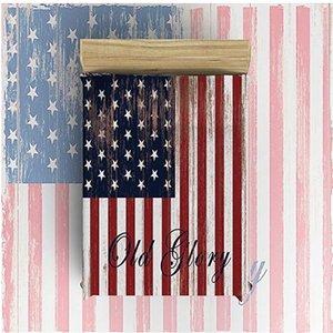 Flanell Fleece Blanket Leichte gemütliche Bett Sofa Decken Super weiche Stoff amerikanische Flagge, Old Glory Pattern