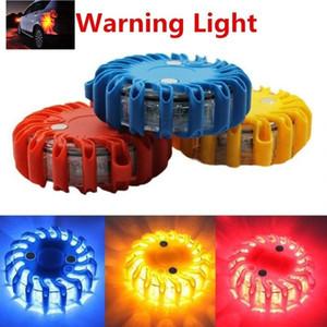BC Ricaricabile LED circolare faro circolare lampeggiante di emergenza lampeggiante auto luci del tetto luci della polizia per veicoli #