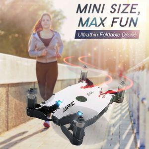 JJRC H49 Selfie مصغرة قابلة للطي مع HD واي فاي FPV كاميرا مروحية RC Drone مفتاح واحد عودة الارتفاع عقد مقابل H47