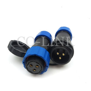 SD20 3pin Waterproof Power Cable Connector,25A 250V Direct Plug High Voltage Cable to Cable Electronic Aviation Connectors,IP68 LED Plug