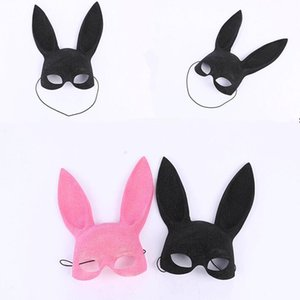 Lady Sexy Bondage Bunny Rabbit Mask Взрослые Рождественские Маскарадные Маски Новогодняя Вечеринка Костюм Аксессуары