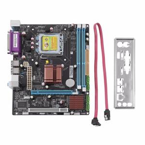 Freeshipping новый Р45 рабочего стола материнская плата сокет ЛГА 771/775 2 модуля DDR3 8GB двойная поддержка L5420