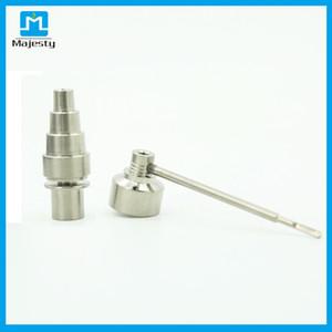 Juego de clavos eléctrico para minería analógica enail mini con temperatura de clavo de titanio de 250 a 999 grados Fahrenheit sin tubo de agua de vidrio