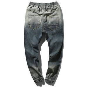 Spring Hot Sale Skinny Men Jeans Casual Slin Fit Tobillo -Length Denim Mens Jogger Solid Jeans Pantalones M -5xl Envío gratis