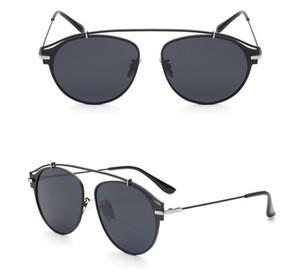 Homens e mulheres redondos óculos de sol polarizados true color filme moda óculos Anti-UV UV Grau UV400 óculos de sol uma variedade de estilos